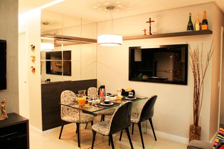 Como fazer a Decoração de Apartamentos Pequenos e Modernos 4