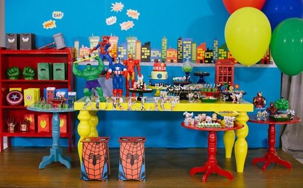 Decoração de mesa para festa infantil 1
