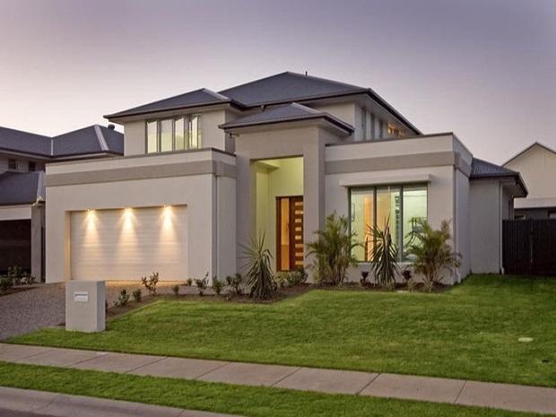 Cores de tintas para paredes externas melhores dicas - Pintura casa moderna ...