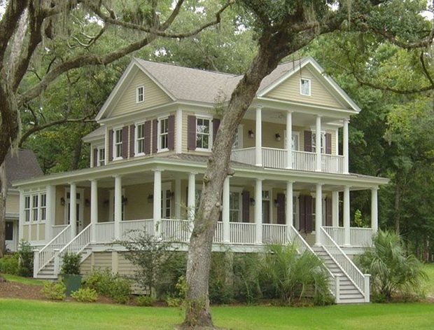 A Frame Bungalow House Plans as well Cloverdale Country 1000161 moreover Log Home Pictures additionally Affordable Porch Design Ideas in addition Beautiful Small Country Homes. on rustic country house plans wrap around porch