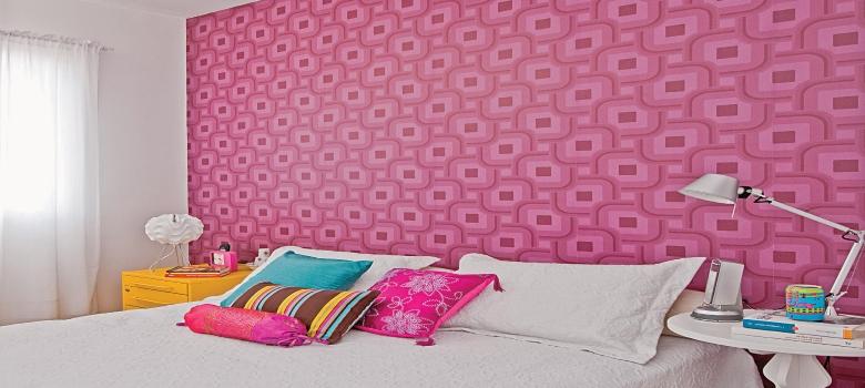 Papel de parede para quarto infantil feminino como usar for Papel pared barato