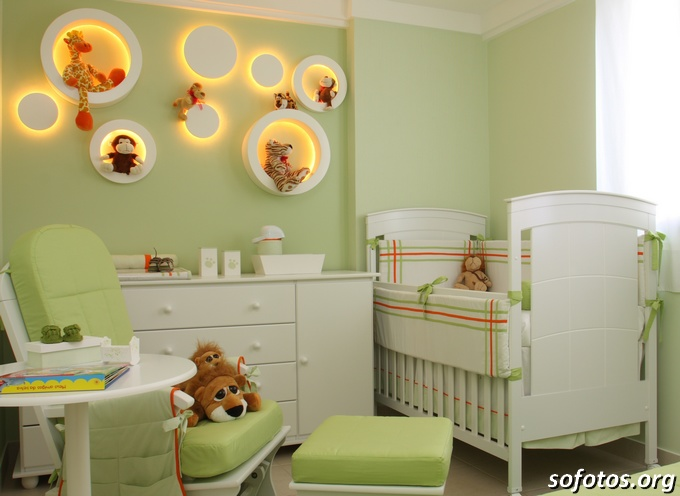 quarto-de-bebe-verde-decorado