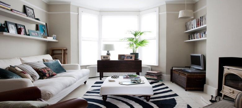Decoraç u00e3o de Salas Simples e Baratas Melhores Dicas -> Decoração De Interiores Salas Simples