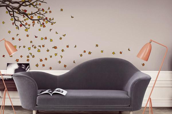 Adesivos de parede para sala de estar, saiba como usar 2