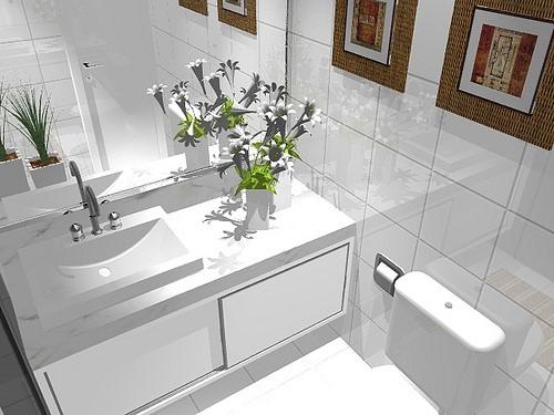 Armários planejados para banheiro grandes e pequenos - photo#46