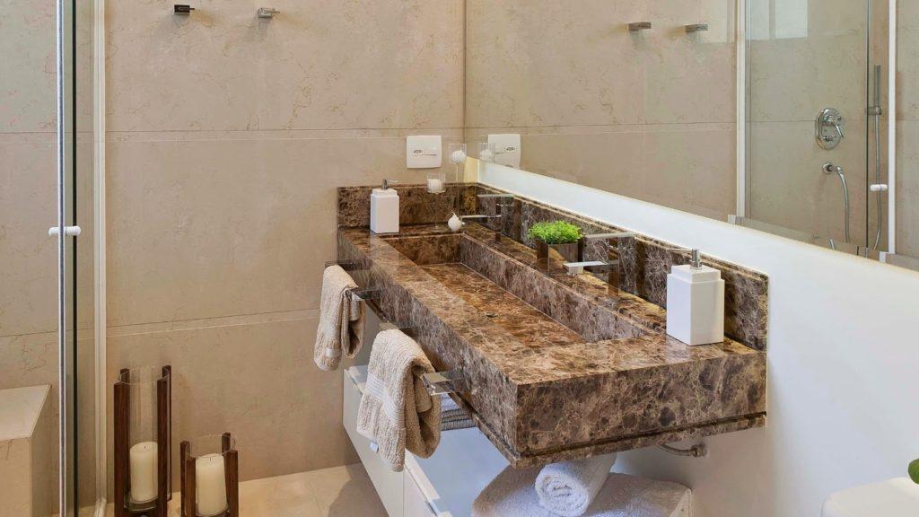 Gabinete para Banheiro com Cuba