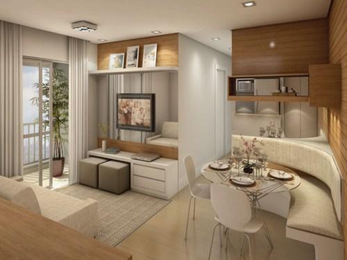 Decora o para apartamentos pequenos dicas r pidas for Cortinas departamentos pequenos