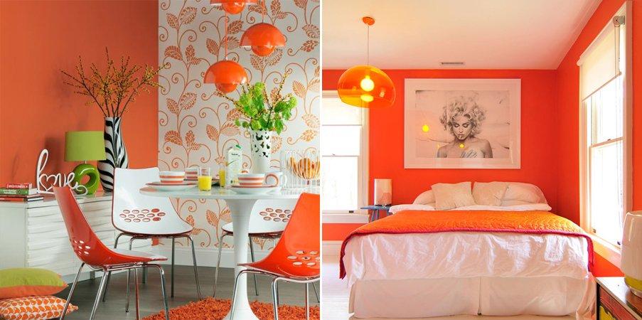 Casas pintadas com cores modernas dicas e inspira es for Pintura de paredes interiores fotos