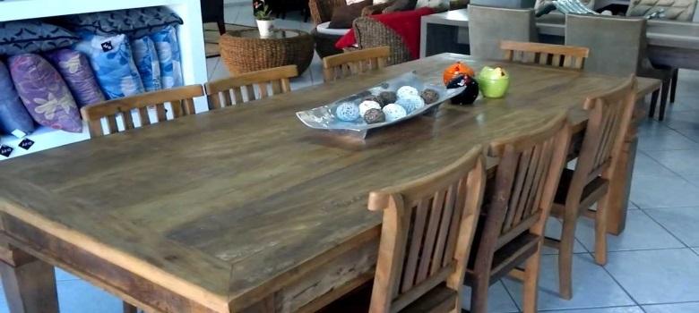 Decoração com Mesas Rústicas