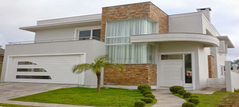 Porque amamos fachadas de casas bonitas e modernas for Fachadas para residencias