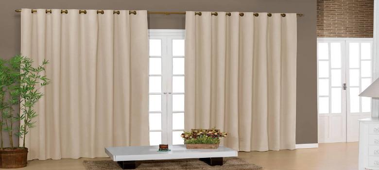 Tudo sobre cortinas para sala na decora o for Cortinas para departamento
