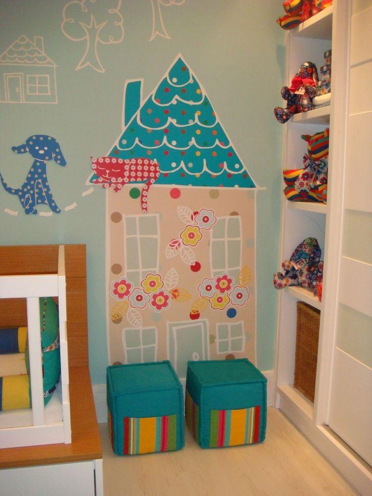 adesivos de parede para quarto de bebê6