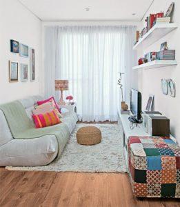 como decorar sua sala gastando pouco