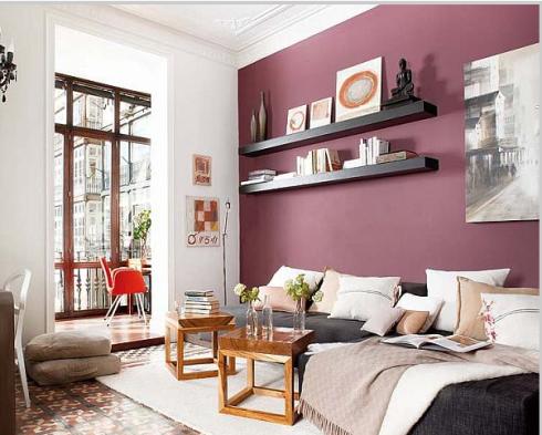 Aprenda a escolher a cor para a parede da sala for Cores para sala de estar 2017