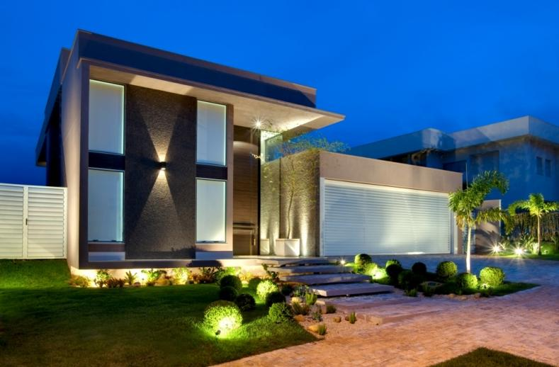 Cores de fachadas de casas modernas dicas e tend ncias for Casa moderna 1 11 2