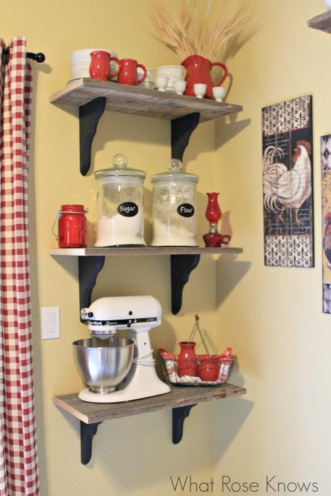 prateleiras Enfeites para Cozinha 2
