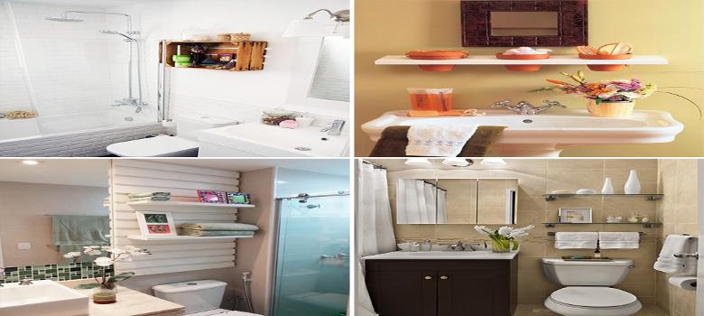 4 Incríveis Dicas Para Organizar Banheiros