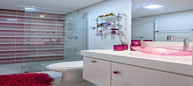 Porque Amamos Decoração Rosa Para Banheiro