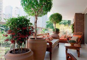 decoração de interiores com vasos ornamentais 1