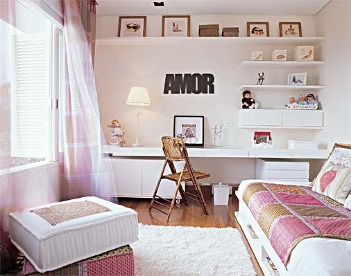 Ideias para decorar quarto feminino 1