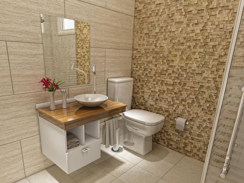Imagens De Banheiros Bem Decorados : Modelos de banheiro com pastilhas para voc� criar sua