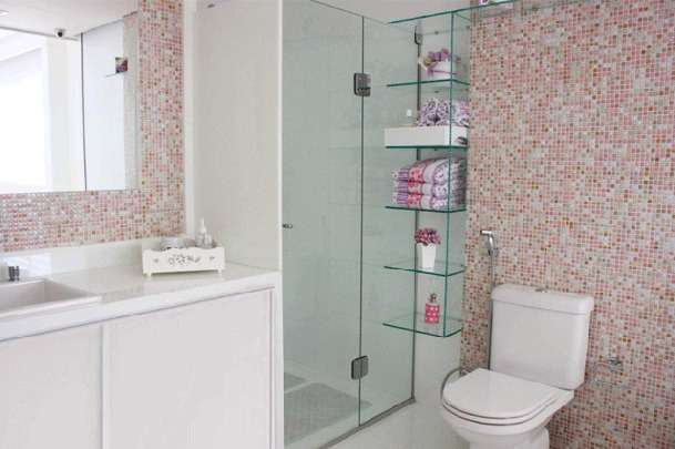 aposte em detalhes Banheiro Pequeno Decorado