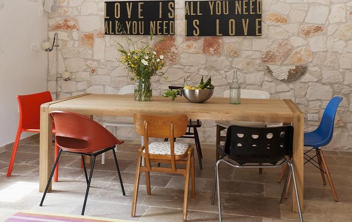 Como usar cadeiras avulsas para decoração da sala de jantar 1