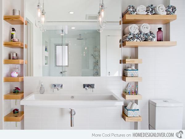 Prateleiras para banheiros pequenos - Dicas importantes 12