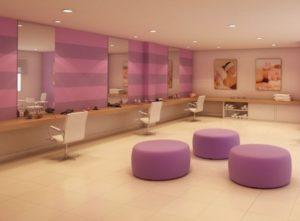 dicas de decoração para salão de beleza 4