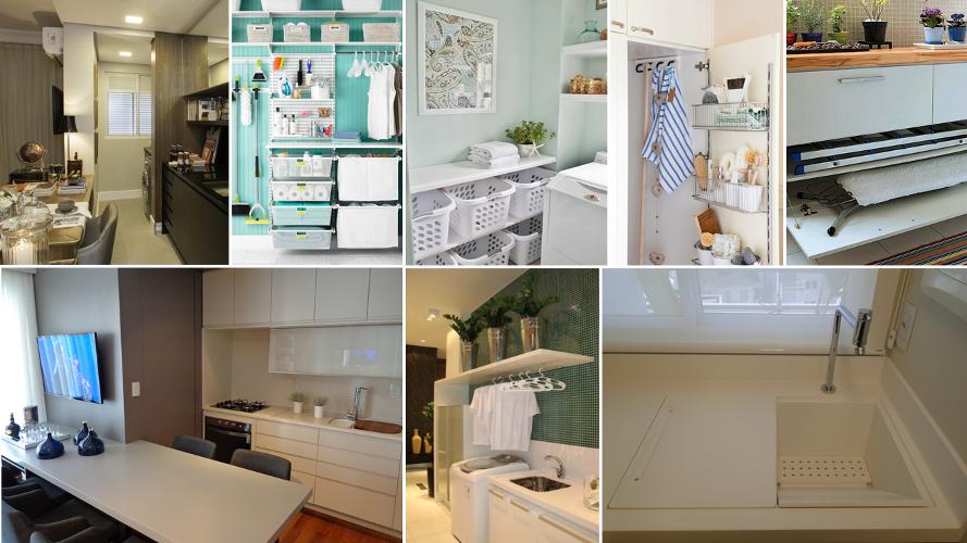 Área de serviço – Como decorar (1) dicas de decoração fotos