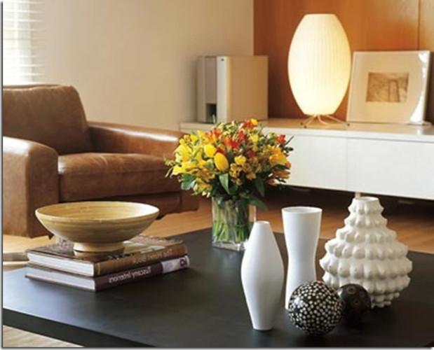 Arranjos para mesa de centro de sala – Como escolher, dicas (6) dicas de decoração fotos