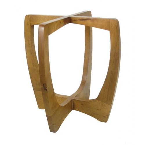 Base de madeira para mesa de jantar – Maciça, rústica (1) dicas de decoração fotos