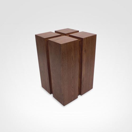 Base de madeira para mesa de jantar maci a r stica quadrad Fabrica de bases para mesas
