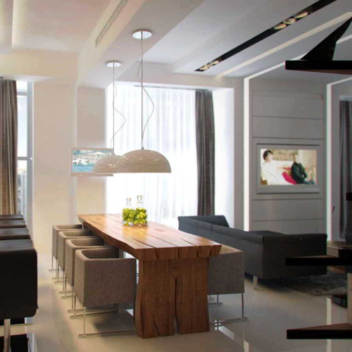 Cadeiras modernas para sala de estar (2) dicas de decoração fotos