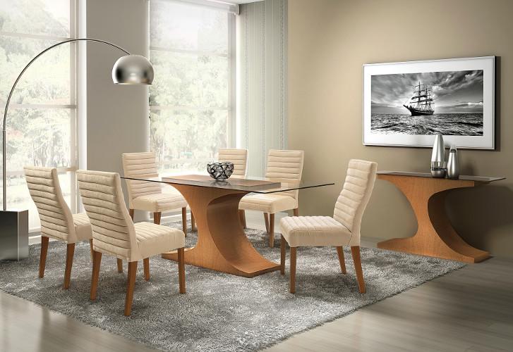 Cadeiras modernas para sala de jantar - Estofadas, Design, como escolher 12