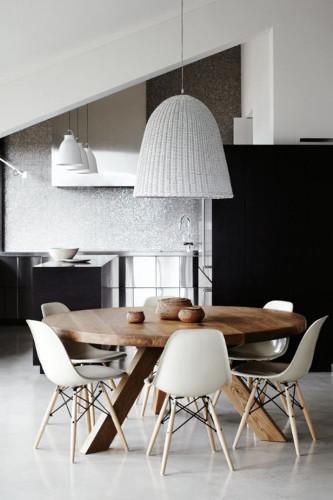 Cadeiras modernas para sala de jantar – Estofadas, Design (8) dicas de decoração fotos
