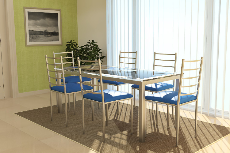 Cadeiras modernas para sala de jantar – Estofadas, Design (9) dicas de decoração fotos