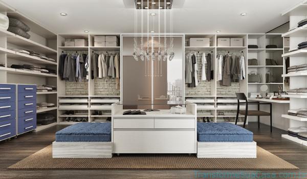 Closets planejados - Como decorar, dicas de profissional 2