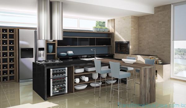 Cozinha americana – Como decorar 11 dicas de decoração como decorar como organizar