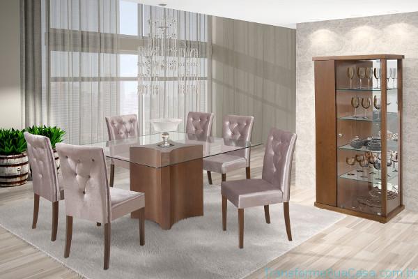Cristaleiras para sala de jantar – Como usar 1 dicas de decoração como decorar como organizar