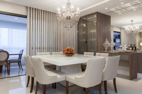 Cristaleiras para sala de jantar - Como usar 1