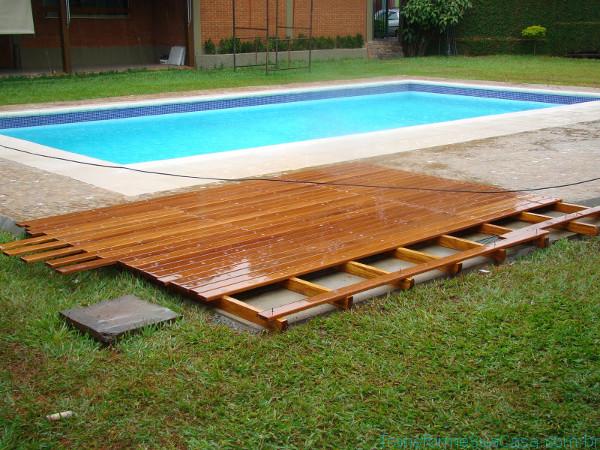 Deck de madeira – Como fazer 3 dicas de decoração como decorar como organizar