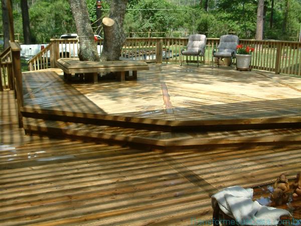 Deck de madeira - Como fazer 1