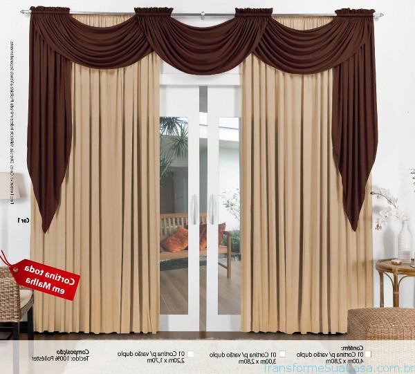 Decoração com cortinas - Como fazer 2