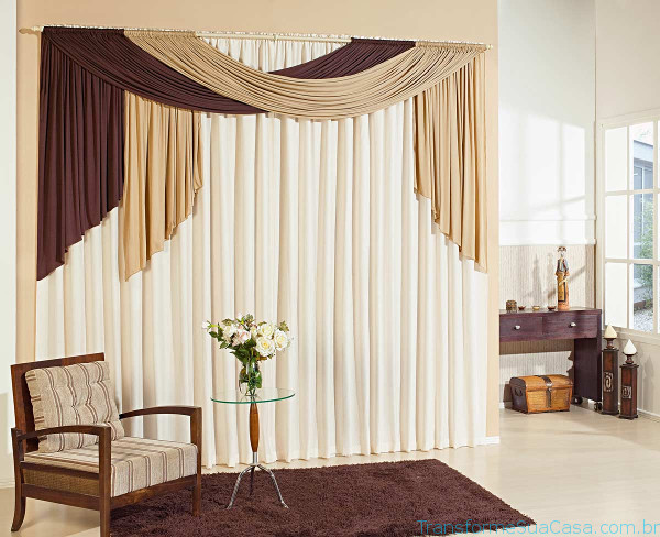 Decoração com cortinas - Como fazer 1