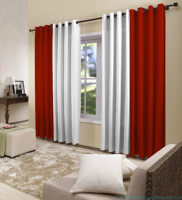 Decoração com cortinas - Como fazer 3