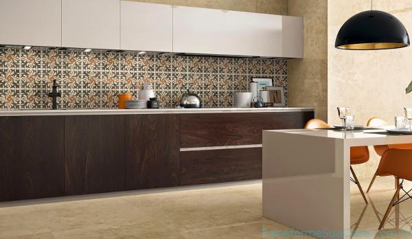 Decoração com pastilhas para cozinha – Como fazer (1) dicas de decoração como decorar como organizar