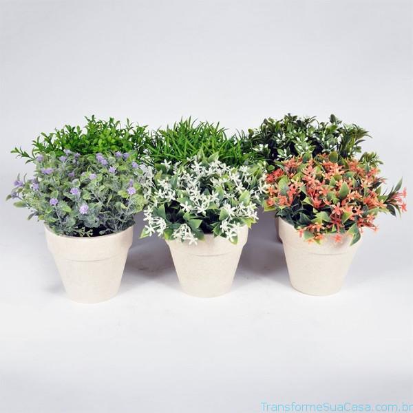 Decoração com plantas artificiais – Como fazer (5) dicas de decoração como decorar como organizar