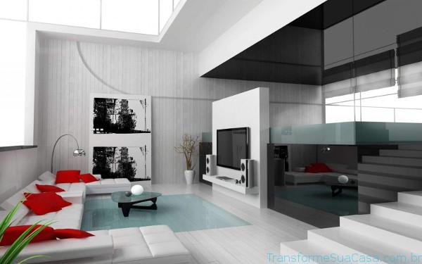 Decoraç u00e3o de casas modernas Como decorar profissionalmente # Decoracao De Casas Modernas