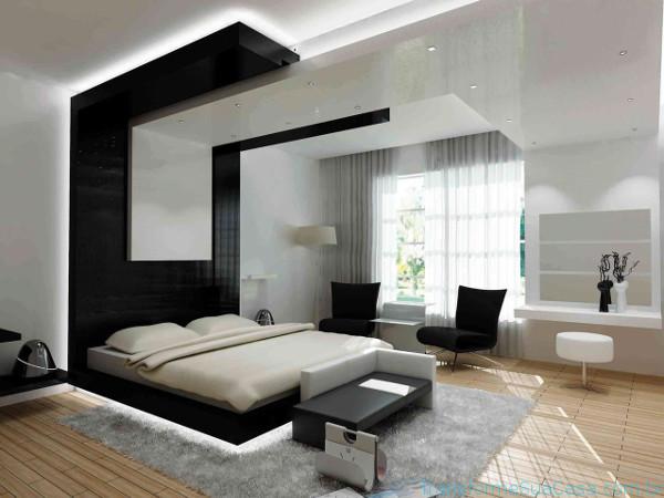 Decora o de casas modernas como decorar profissionalmente for Imagenes de tumbados de casas